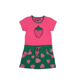 003 Happynr1 Sporty Strawberry jurk  19-128
