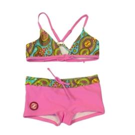 00001  Zee & Zo moloka roze bikini maat 176