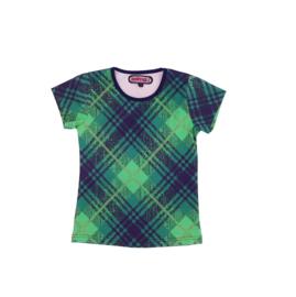 00004 HappyNr1 shirt  groen -zwart  Hp-19-206