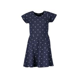 0004 Blue Seven jurk blauw  528070