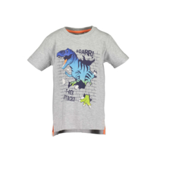 00002 Blue Seven shirt grijs 802185