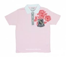 01 Airforce poloshirt roze 6765 maat S, voordeel