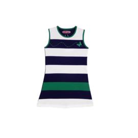 002 Happynr1 jurk -groen-wit 19-120