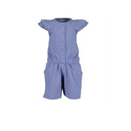 0 Blue Seven jumpsuit blauw dots 915036