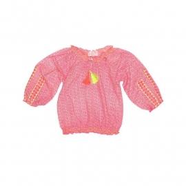 Mim Pi 1626 blouse roze  maat 74