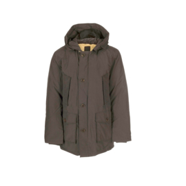 001  Airforce heren parka M0014 metal grey