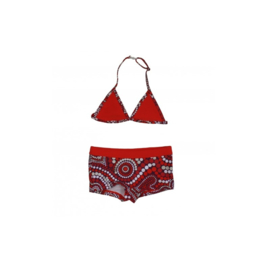 001 Just Beach bikini rood Auk