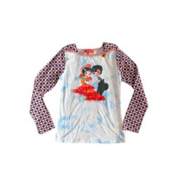 0000 Mim Pi 433  print  shirt maat 146