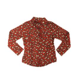 0000 LoFff blouse -Black/Red/White- Z8040-02