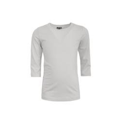0000  LoFff shirt 3/4 wit Z9212-01