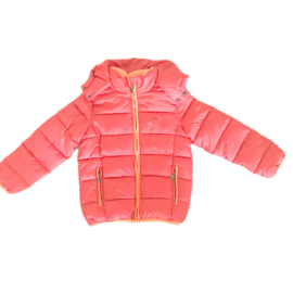 0001 Far out meiden winterjas orange model Hippo maat 116-122