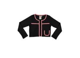 004 LoFff Jacket -Black/Pink- Z8043-04