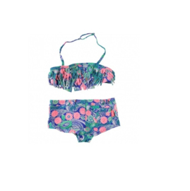001 Far out bikini Elize blue flower