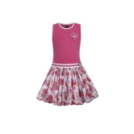 00 LoFff jurk roze  Z8571-48