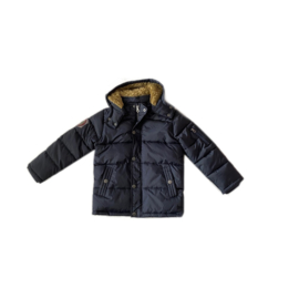 0001 Far out jongens winterjas  dark blue maat 128