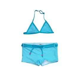 001 ZEE & ZO Poppy Stripe Light Blue bikini