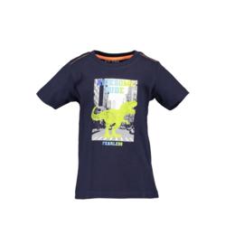 00002 Blue Seven shirt donker blauw 802186
