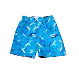 Far Out zwemshort 0014006 blauw haai maat 104-110