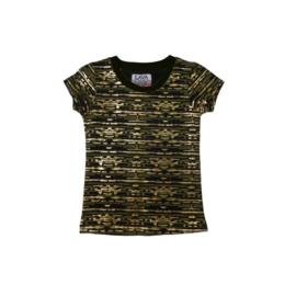 1 LavaLava shirt milano -goud-kaki 17-213