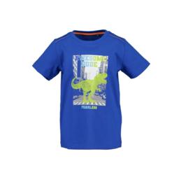 00002 Blue Seven shirt royal blauw 802186