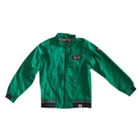 01 Mees zomerjas groen maat 140
