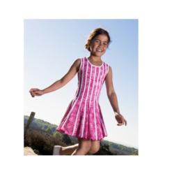 000020 LoFff jurk -roze Z8113-04