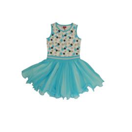 00010  LoFff jurk dancing dots Z8363