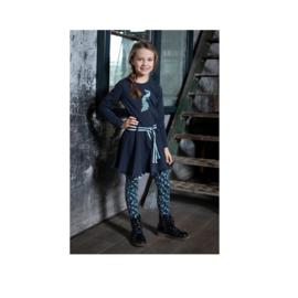 00001 LoFff  jurk Lacey blauw Z8411-57