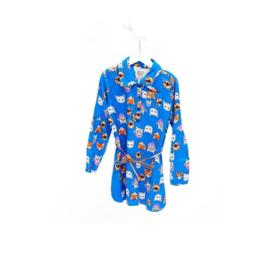 01 Mim-Pi 641 jurk blauw