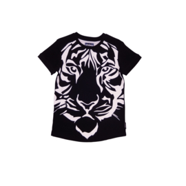 00015  Legends22 Shirt tiger black 20-394