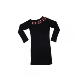 012 LavaLava jurk Argentina black 18-252