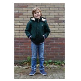 101 Far out jongens winterjas  groen model Orka