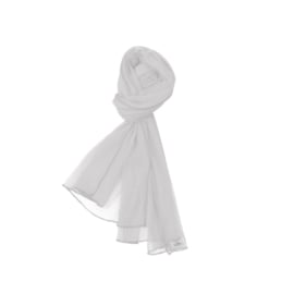 00011 LoFff  sjaal - wit Z8159-02