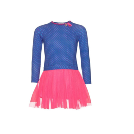 001 Mim-Pi 59  jurk blauw