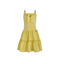 000 LoFff jurk geel Z8564-12