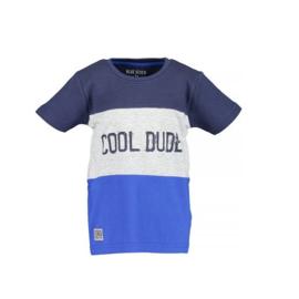 0001 Blue Seven shirt blauw 802161