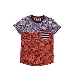 0001  Legends22 Shirt Sebbe orange-grey 20-308