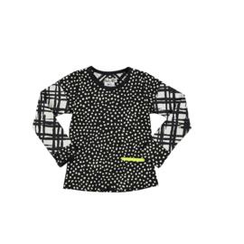 059 LoFff z7842-01 shirt longsleeve zwart wit