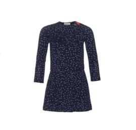 001 Mim-Pi 77  jurk blauw met sterren