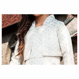 000531 LoFff  jacket - jacquard dots Z8194-01