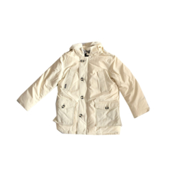 001 Airforce  parka jas  creme Hr72M0077 maat 122-128