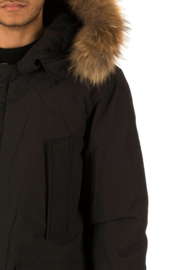 001 Airforce heren parka M0015 RF zwart