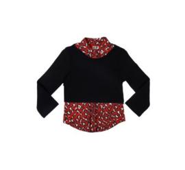 001 LoFff Shirt -Black/Red- Z8052-01