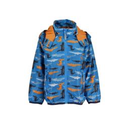 0001 Blue Seven zomerjas blauw 845015