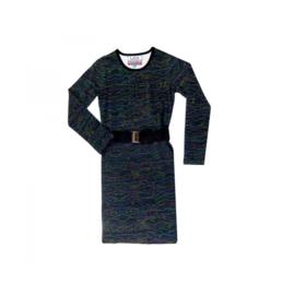 1 LavaLava jurk luminescence black 17-203