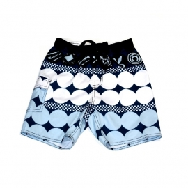 Just Beach Swimshort Moscow  blauw