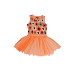 01 LoFff jurk dancing  peach Z8355
