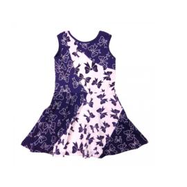 00001 LoFff  jurk - blauw -Z8110-02