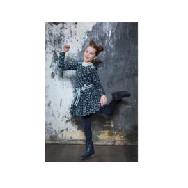 00001 LoFff  jurk Joanneke blauw Z8407-55