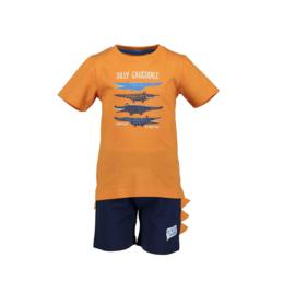 0001 Blue Seven set  oranje 827041
